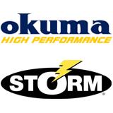 Okuma & Storm fishing web banner
